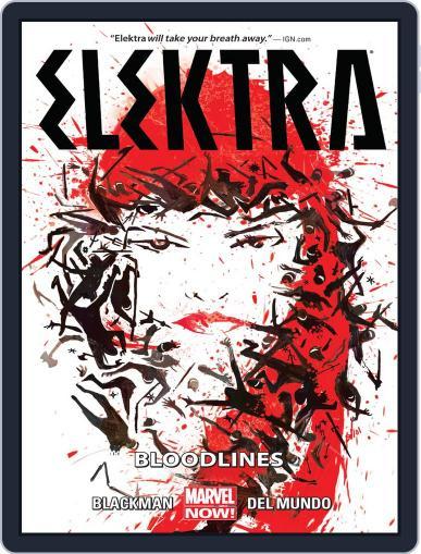 Elektra (2014-2015) November 5th, 2014 Digital Back Issue Cover