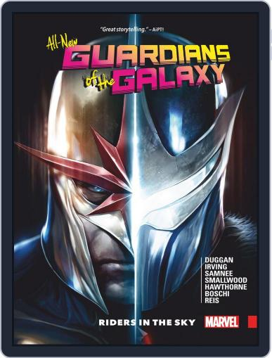 All-New Guardians Of The Galaxy (2017-2018) (Digital) December 20th, 2017 Issue Cover