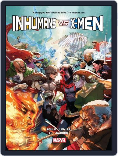 Inhumans Vs. X-Men (2016-2017) (Digital) July 5th, 2017 Issue Cover