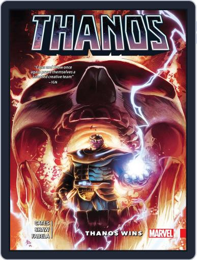 Thanos (2016-2018) June 27th, 2018 Digital Back Issue Cover