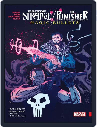 Doctor Strange/Punisher: Magic Bullets Infinite Comic (Digital) August 30th, 2017 Issue Cover