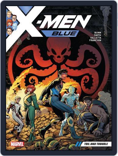 X-Men Blue (2017-) (Digital) November 22nd, 2017 Issue Cover
