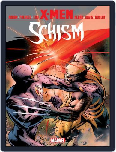 X-Men: Schism December 6th, 2012 Digital Back Issue Cover