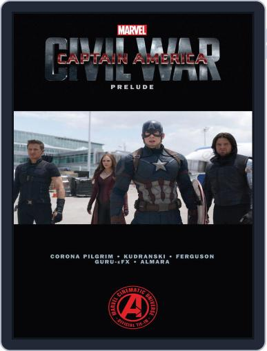 Marvel's Captain America: Civil War Prelude (Digital) April 13th, 2016 Issue Cover