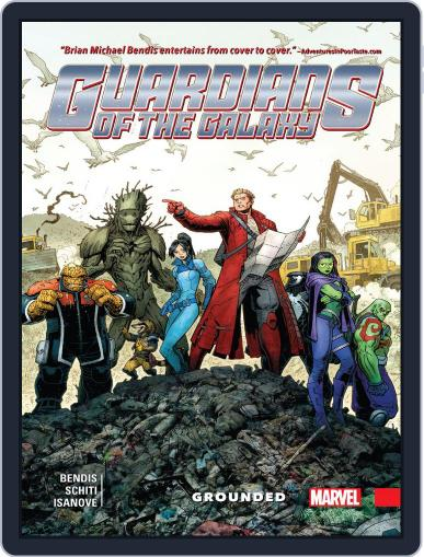 Guardians of the Galaxy (2015-2017) June 21st, 2017 Digital Back Issue Cover