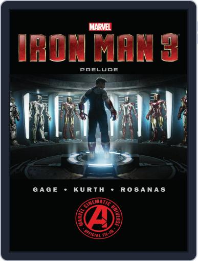 Marvel's Iron Man 3 Prelude April 9th, 2015 Digital Back Issue Cover