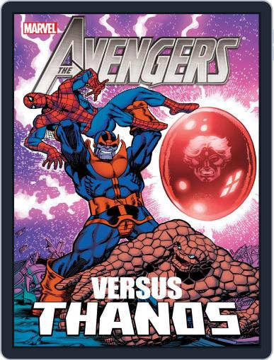 Avengers vs. Thanos July 25th, 2013 Digital Back Issue Cover