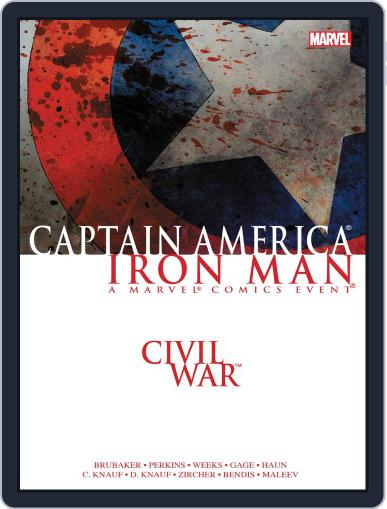 Civil War March 9th, 2016 Digital Back Issue Cover
