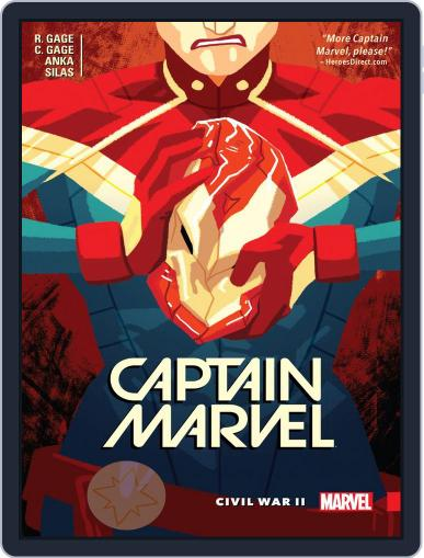 Captain Marvel (2016) February 1st, 2017 Digital Back Issue Cover