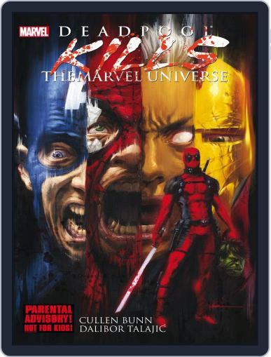 Deadpool Kills the Marvel Universe (Digital) September 19th, 2013 Issue Cover