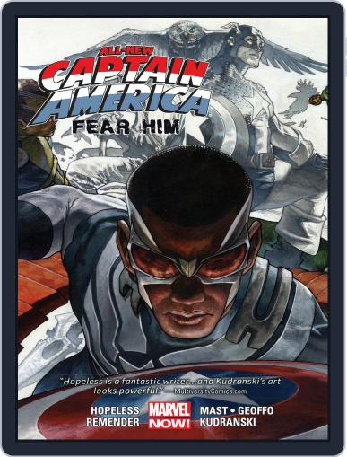 All-New Captain America: Fear Him June 24th, 2015 Digital Back Issue Cover