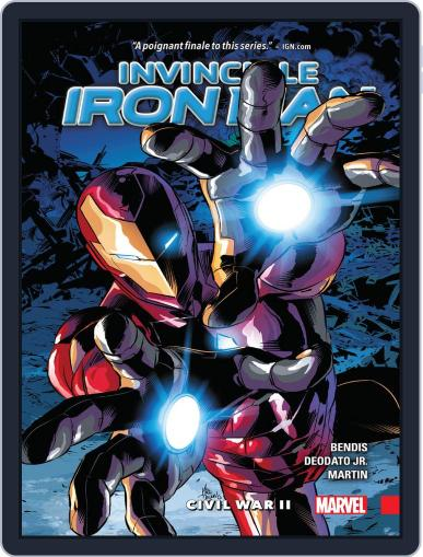 Invincible Iron Man (2015-2016) (Digital) February 8th, 2017 Issue Cover