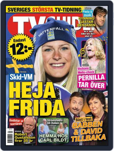 TV-guiden Magazine (Digital) February 25th, 2021 Issue Cover