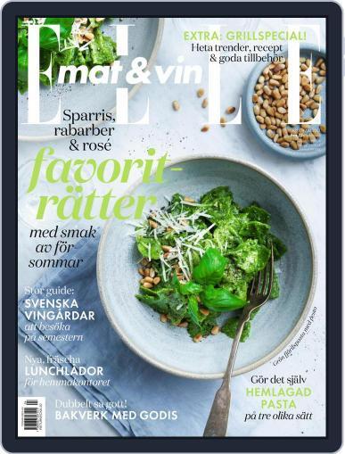 Elle Mat & Vin Magazine (Digital) April 1st, 2021 Issue Cover