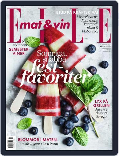 Elle Mat & Vin Magazine (Digital) August 1st, 2021 Issue Cover