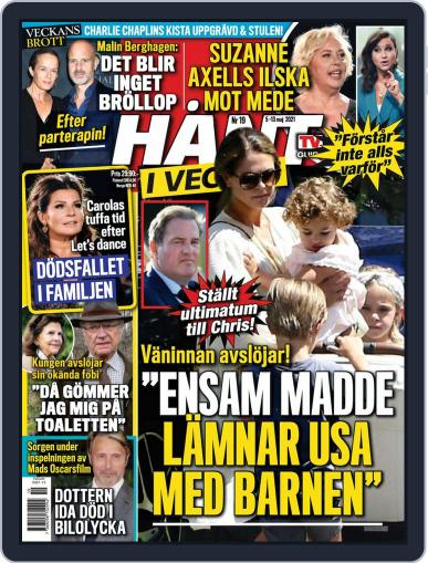 Hänt i Veckan Magazine (Digital) May 5th, 2021 Issue Cover