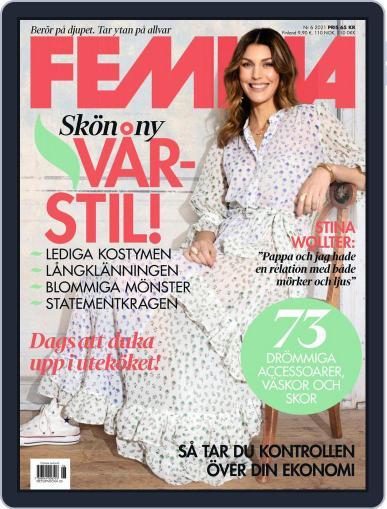 Femina Sweden Magazine (Digital) June 1st, 2021 Issue Cover