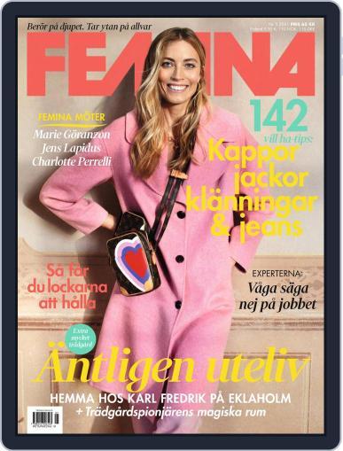 Femina Sweden Magazine (Digital) May 1st, 2021 Issue Cover