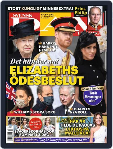 Svensk Damtidning Magazine (Digital) April 22nd, 2021 Issue Cover