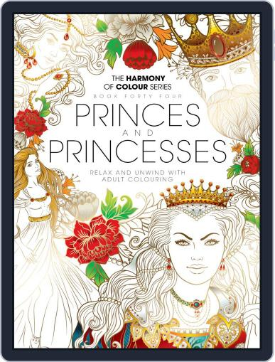 Colouring Book: Princes and Princesses Magazine (Digital) July 12th, 2018 Issue Cover