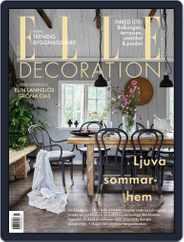 ELLE Decoration Sweden Magazine (Digital) Subscription May 1st, 2021 Issue