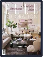 ELLE Decoration Sweden Magazine (Digital) Subscription October 1st, 2021 Issue