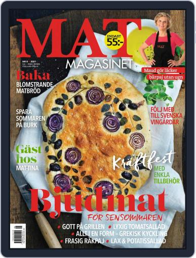 Matmagasinet Magazine (Digital) August 1st, 2021 Issue Cover