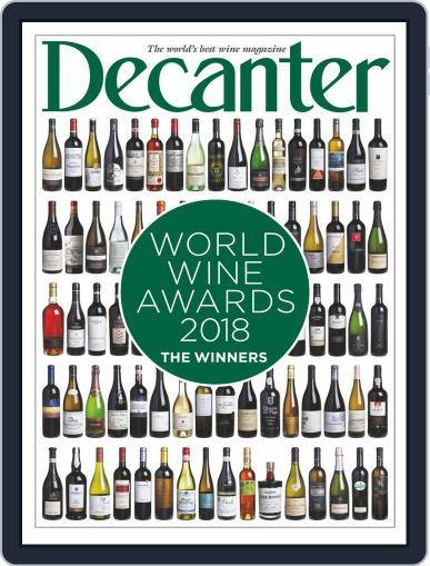 Decanter World Wine Awards 2018 Special Magazine (Digital) August 1st, 2018 Issue Cover