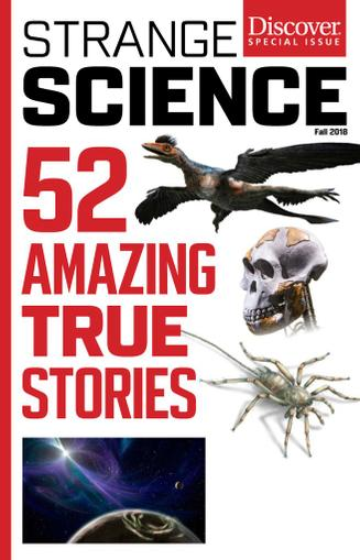 Strange Science Magazine (Digital) July 30th, 2018 Issue Cover