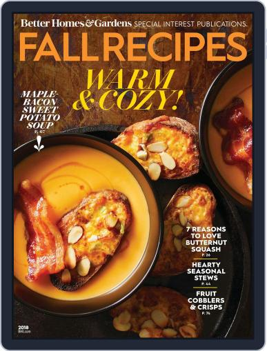 Fall Recipes July 13th, 2018 Digital Back Issue Cover