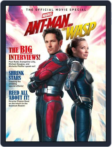Ant-Man And The Wasp - The Official Movie Special Magazine (Digital) July 6th, 2018 Issue Cover