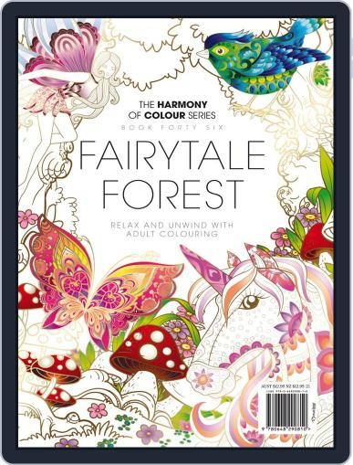 Colouring Book: Fairytale Forest August 20th, 2018 Digital Back Issue Cover