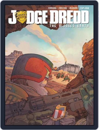 Judge Dredd: The Blessed Earth Magazine (Digital) December 1st, 2017 Issue Cover