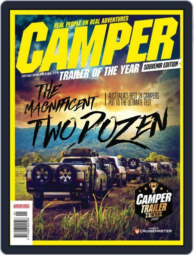 Camper Trailer of the year Magazine (Digital) May 1st, 2018 Issue Cover