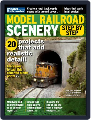 Model Railroad Scenery, Step by Step Magazine (Digital) October 15th, 2018 Issue Cover