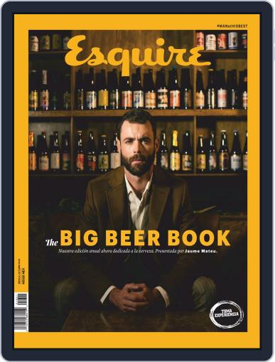 Esquire The Beer Book México Magazine (Digital) October 1st, 2018 Issue Cover