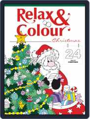 Colouring Book: Relax and Colour Christmas Magazine (Digital) Subscription October 26th, 2018 Issue