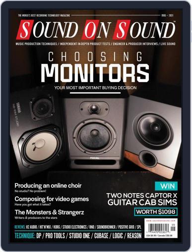 Sound On Sound USA Magazine (Digital) September 1st, 2021 Issue Cover