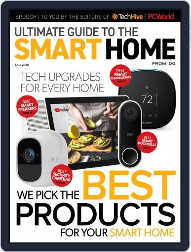 The Ultimate Guide to the Smart Home October 3rd, 2018 Digital Back Issue Cover