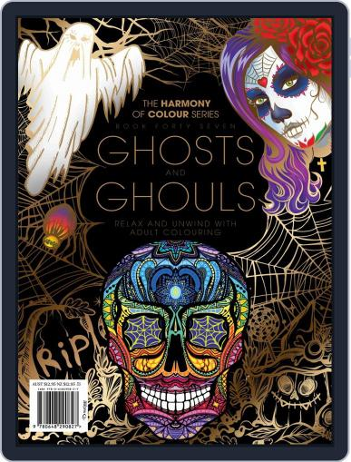 Colouring Book: Ghosts and Ghouls September 17th, 2018 Digital Back Issue Cover