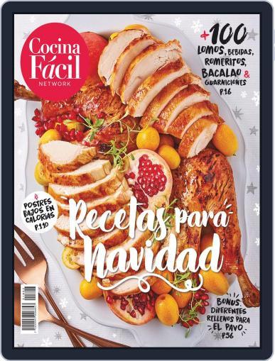 Recetas para Navidad por Cocina Fácil December 13th, 2018 Digital Back Issue Cover