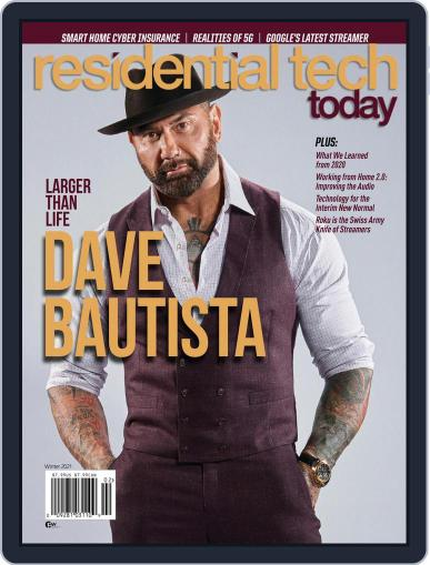 Residential Tech Today Magazine (Digital) February 1st, 2021 Issue Cover