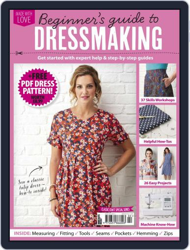 Beginner's Guide to Dressmaking March 20th, 2020 Digital Back Issue Cover