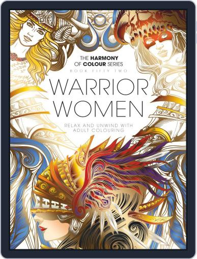 Colouring Book: Warrior Women February 26th, 2019 Digital Back Issue Cover