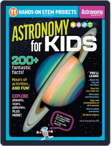 Astronomy for Kids Magazine (Digital) February 13th, 2019 Issue Cover
