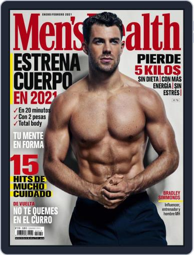 Men's Health España Magazine (Digital) January 1st, 2021 Issue Cover