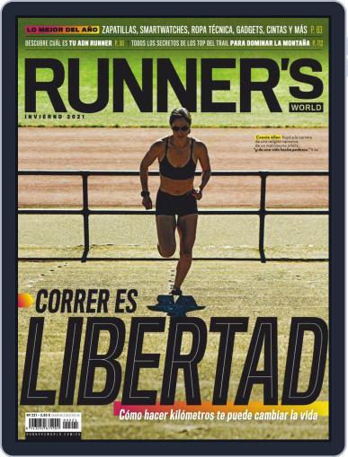 Runner's World España Magazine (Digital) January 1st, 2021 Issue Cover
