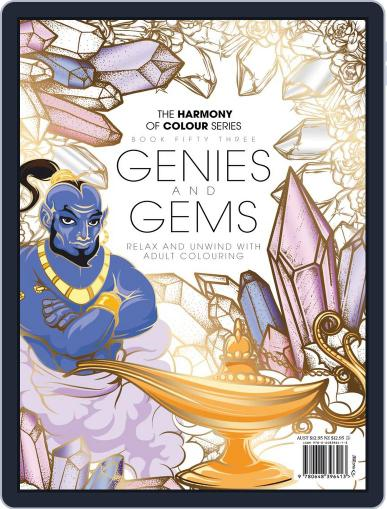 Colouring Book: Genies and Gems March 25th, 2019 Digital Back Issue Cover