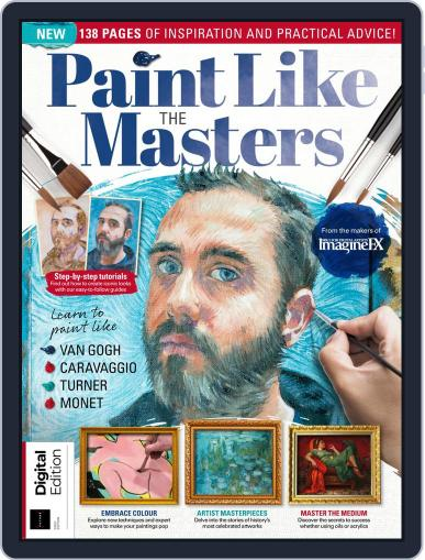 Paint Like the Masters March 25th, 2019 Digital Back Issue Cover
