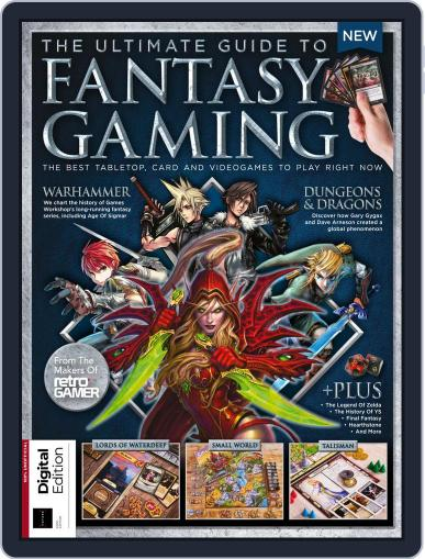 The Ultimate Guide to Fantasy Gaming Magazine (Digital) March 25th, 2019 Issue Cover